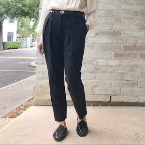 Marc Jacobs Collection Black Wool Trousers NWOT